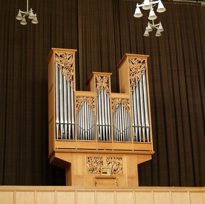 Het Van Vulpen-orgel in de Koorkerk