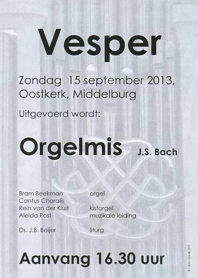 Orgelmis poster