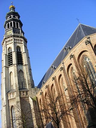 Koorkerk met Lange Jan Middelburg