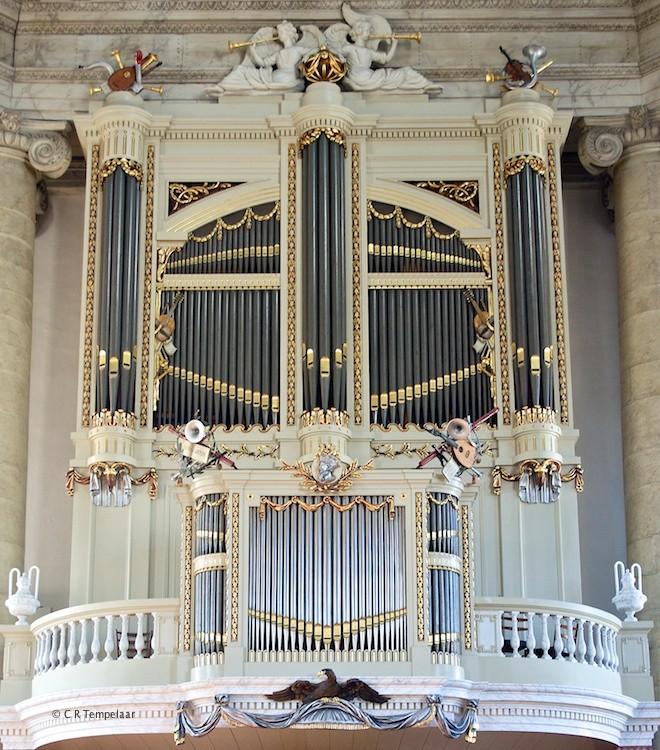 Het De Rijckere-orgel in de Oostkerk