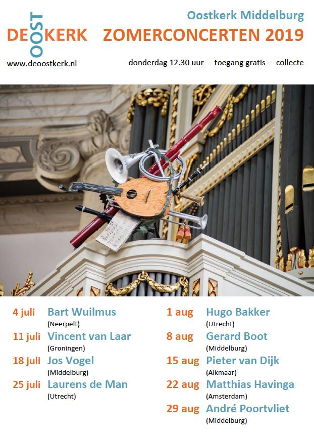 Zomerconcerrten 2019 Oostkerk